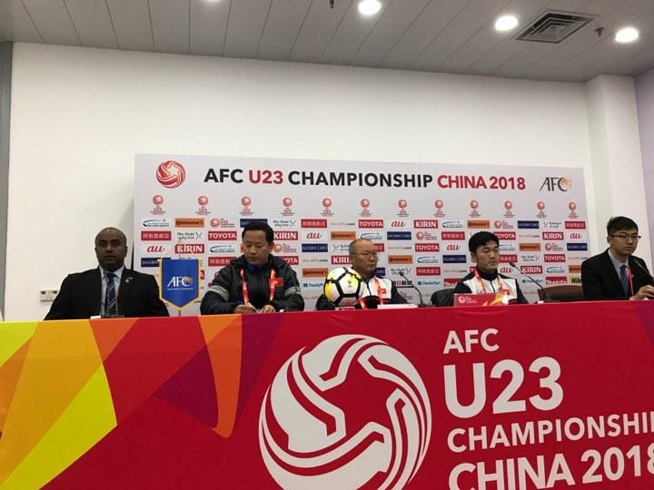 HLV Park Hang Seo: 'U23 Việt Nam sẽ tận lực mang cúp trở về'