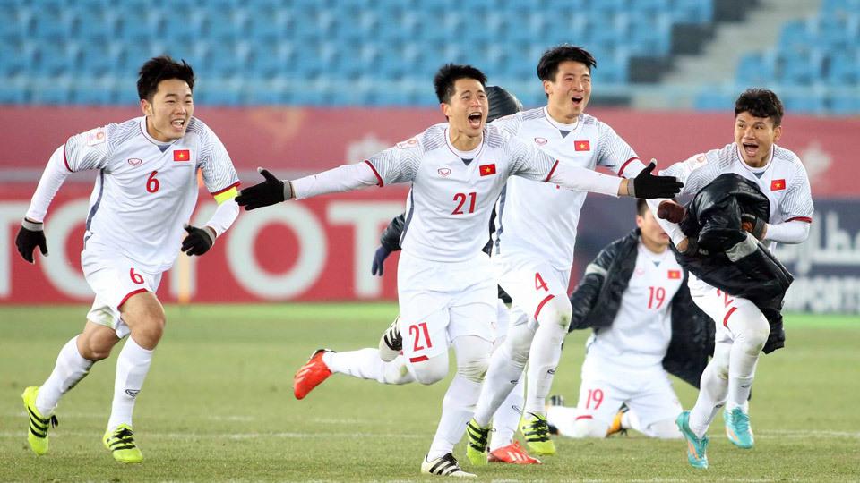 Chung kết U23 châu Á: U23 Việt Nam viết chuyện thần thoại