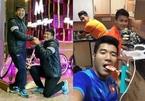 Khoảnh khắc nhí nhảnh của các cầu thủ U23 Việt Nam 'đốn tim' chị em