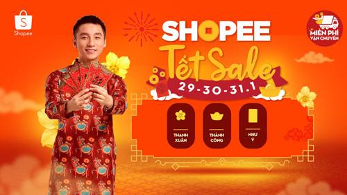 140.000 mặt hàng Tết khuyến mại lớn trên Shopee