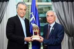 Chủ tịch AFC mong U23 Việt Nam gặp may ở trận chung kết
