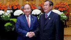 Thủ tướng gặp Thủ tướng Campuchia, Tổng thống Indonesia