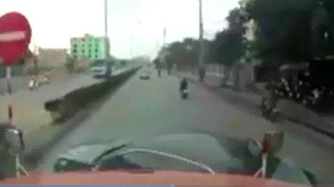 Bài học cho những tay lái mạo hiểm với tính mạng chính mình