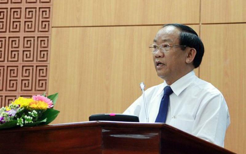Chủ tịch Quảng Nam, Đinh Văn Thu, kỷ luật, Lê Phước Thanh