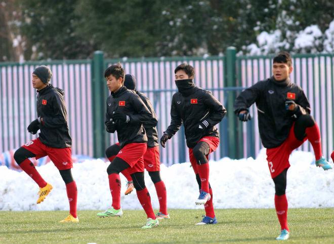Thường Châu tuyết tan, U23 Việt Nam vẫn sẵn 'kế hoạch B'