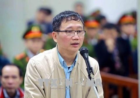 xét xử Trịnh Xuân Thanh, PVC, PVP Land, Trịnh Xuân Thanh, Đinh Mạnh Thắng