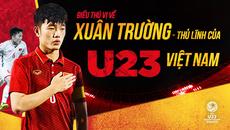 Điều bất ngờ về Xuân Trường, người hùng thầm lặng của U23 Việt Nam
