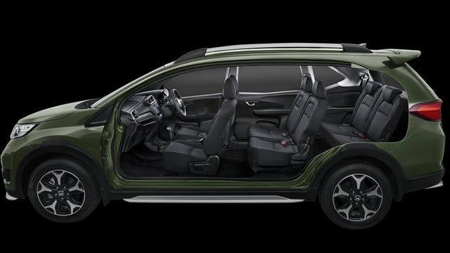 Xe 7 chỗ Honda BR-V có giá chỉ 450 triệu đồng