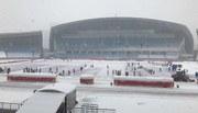 Bất chấp mưa tuyết, AFC không huỷ trận chung kết