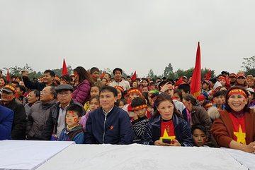 Trực tiếp chung kết từ gia đình tuyển thủ U23 Việt Nam
