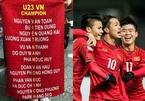 Sự trùng hợp bất ngờ khi ghép tên các cầu thủ U23 Việt Nam