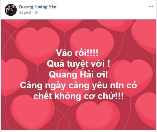 Sao Việt cảm phục trước tinh thần đội tuyển U23 Việt Nam