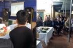 Khách dự đám cưới bỏ ăn cỗ, cổ vũ U23 Việt Nam