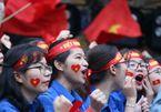 Sinh viên cả nước tưng bừng cổ vũ chung kết U23