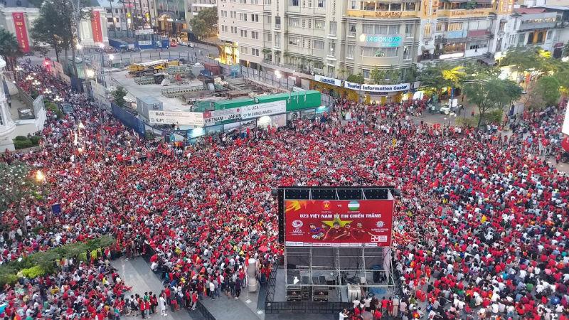 TP.HCM hoãn xem Việt Nam vs Campuchia