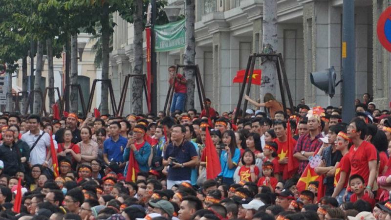 U23 Việt Nam, chung kết U23 Việt Nam, phố đi bộ,