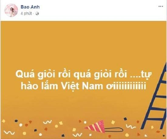 Sao Việt xúc động sau trận đấu tuyệt vời của U23 Việt Nam