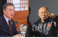 Tổng thống Hàn Quốc ca ngợi U23 Việt Nam và HLV Park Hang Seo