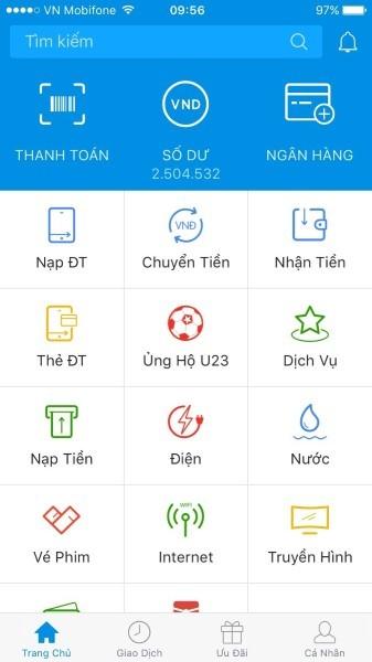 Ủng hộ đội tuyển U23 Việt Nam qua Zalo Pay