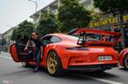 Cường Đô La cùng đoàn siêu xe diễu hành trên phố Sài Gòn