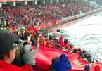 Sắc đỏ trong tuyết trắng trên SVĐ Thường Châu tiếp lửa U23 Việt Nam