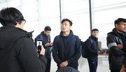 Video phỏng vấn nóng thủ thành Tiến Dũng tại sân bay Thường Châu