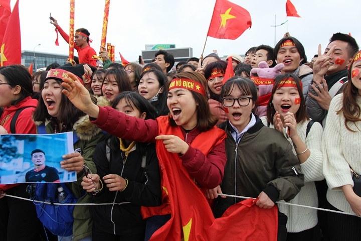 u23 Việt Nam, bóng đá Việt Nam, u23 châu Á, sân bay Nội Bài