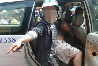 Thanh niên đội MBH Grabbike đâm người trên phố Sài Gòn