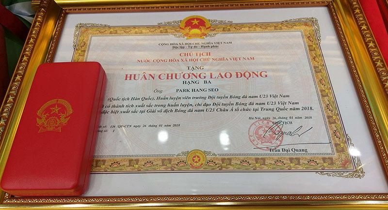 U23 Việt Nam, Quang Hải, Tiến Dũng, HLV Park Hang Seo, bóng đá Việt Nam, Thủ tướng, Nguyễn Xuân Phúc