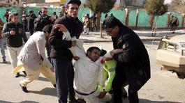 Afghanistan để quốc tang sau vụ tấn công kinh hoàng