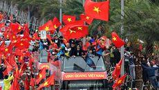 U23 Việt Nam khép lại lễ diễu hành nhớ đời