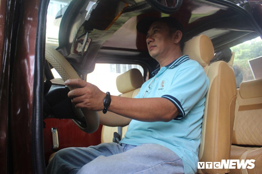 Thợ sửa xe đạpSài Gòn chế siêu phẩm ô tô điện 'đại bàng tung cánh'