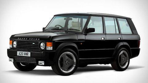 Mẫu xe độ y hệt thế hệ Range Rover đầu tiên