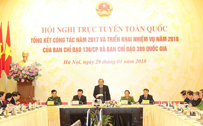 Hàng gian, hàng giả, Vụ Khaisilk, Phó Thủ tướng, Trương Hoà Bình