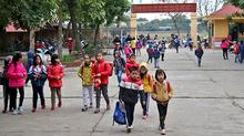 Sáng thứ 2 ở trường cấp 1 của Quang Hải