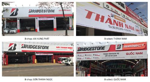 Đồng loạt khai trương 6 trung tâm dịch vụ Bridgestone