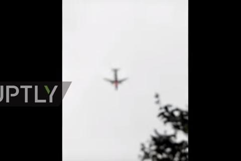 máy bay rơi