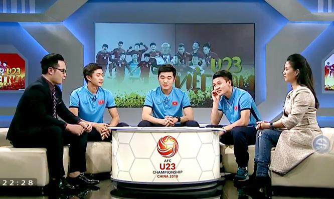 Xuân Trường, Quang Hải, Văn Thanh, U23 Việt Nam, HLV Park Hang Seo