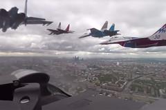 Tiêm kích Nga xua máy bay do thám Mỹ trên Biển Đen