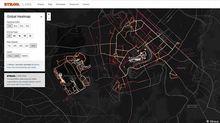 Mỹ lộ thông tin quân sự từ phần mềm Strava?