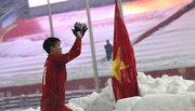 Duy Mạnh tiết lộ hành động cắm cờ trên tuyết khiến fan xúc động