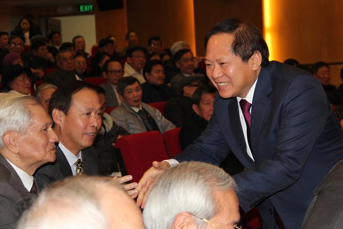 Bộ trưởng Trương Minh Tuấn tri ân cán bộ lão thành ngành Bưu điện