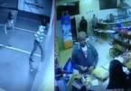Bị hạ gục, tên cướp vẫn bắn trả trúng chân cảnh sát