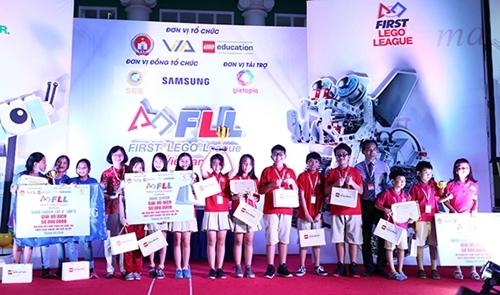 Đã có đại diện Việt Nam tham dự First Lego League Global