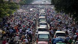 Hà Nội quyết xoá 10 điểm ùn tắc giao thông