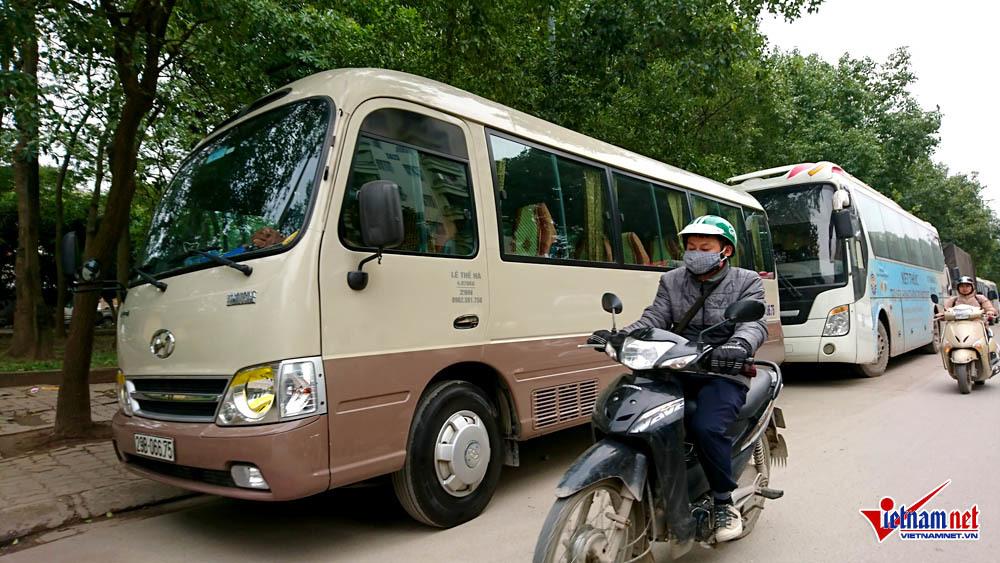 xe dù, xe khách, Hà Nội, bến cóc