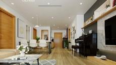 Nhà mặt đất cũng phải ghen tỵ với căn hộ chung cư đơn giản mà tinh tế này!