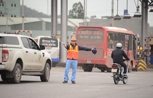 Tết Mậu Tuất: Miễn phí qua BOT quốc lộ 18