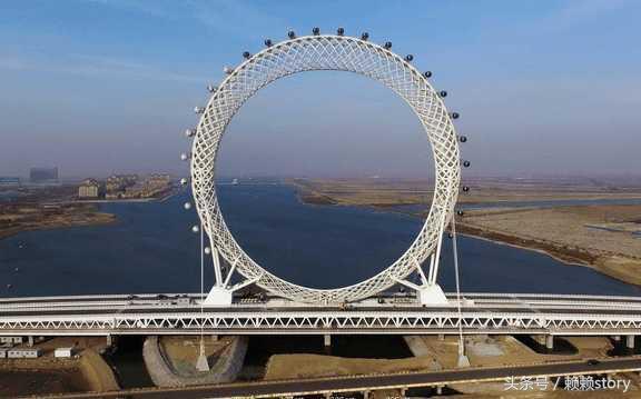 Chiêm ngưỡng vòng xoay lớn nhất thế giới không có trục