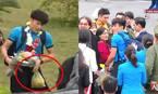 Người thân tiết lộ về quả bưởi thủ môn Tiến Dũng nhận ở sân bay